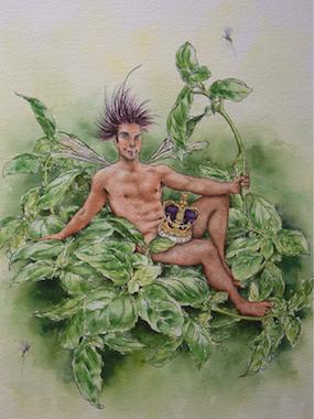 'Basil' Art Card