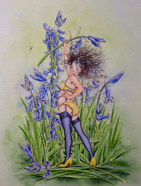 'Bluebell' Hand-Signed Print