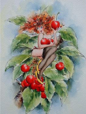 'Cherry' Hand-Signed Print