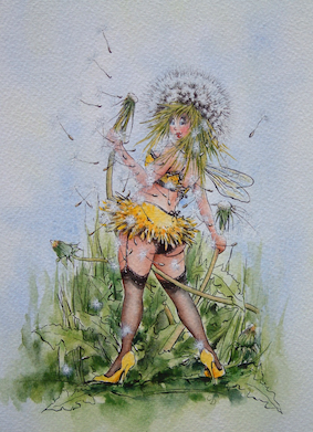 'Dandelion' Hand-Signed Print