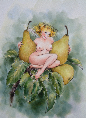 'Pear' Hand-Signed Print