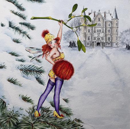'Pine Tree Fairy' Hand-Signed Print