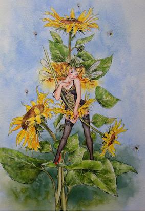 'Sunflower' Hand-Signed Print