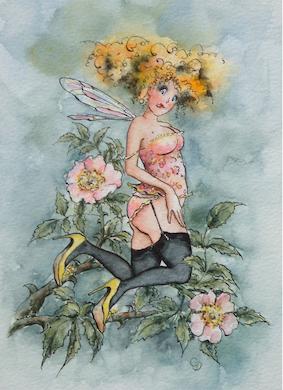 'Wild Rose' Hand-Signed Print