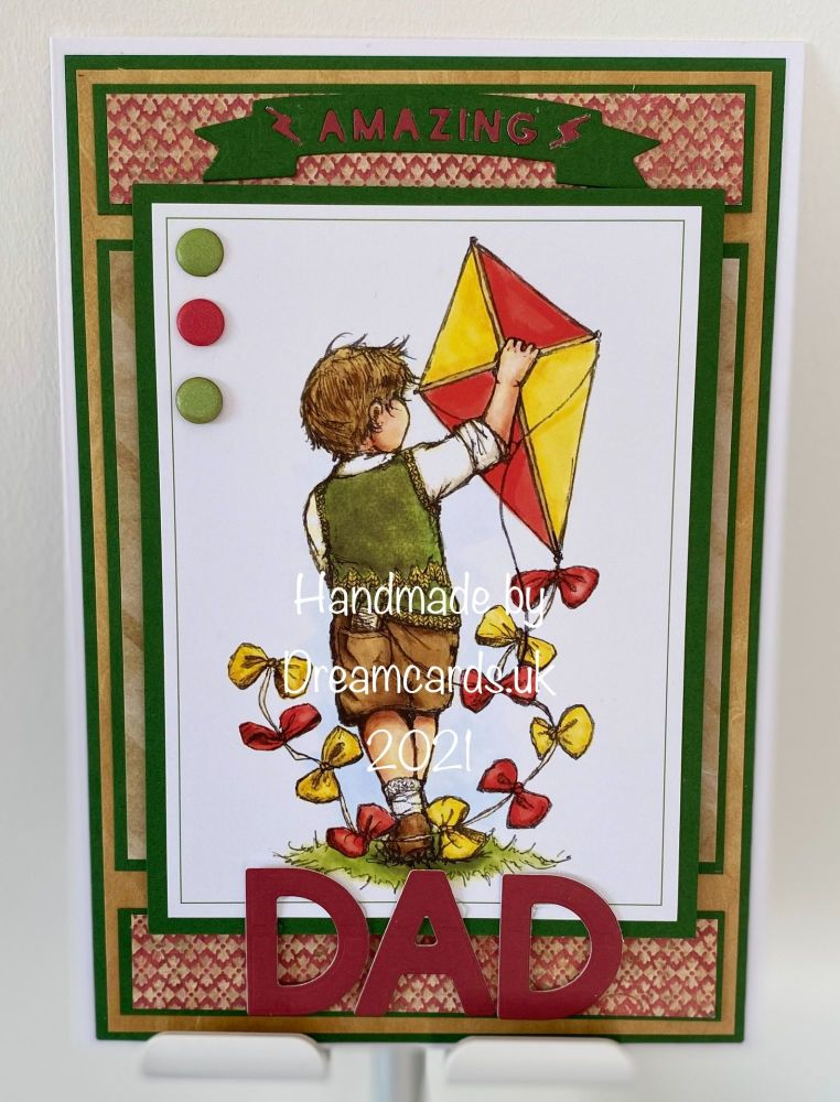New Product A5 FATHER'S DAY CARD-AMAZING DAD