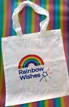 Rainbow Wishes Tote Bag