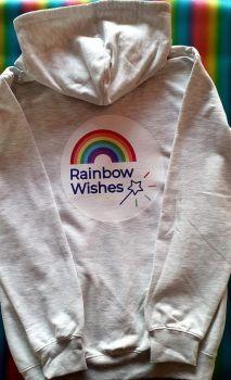 Rainbow Wishes Zip Hoodie