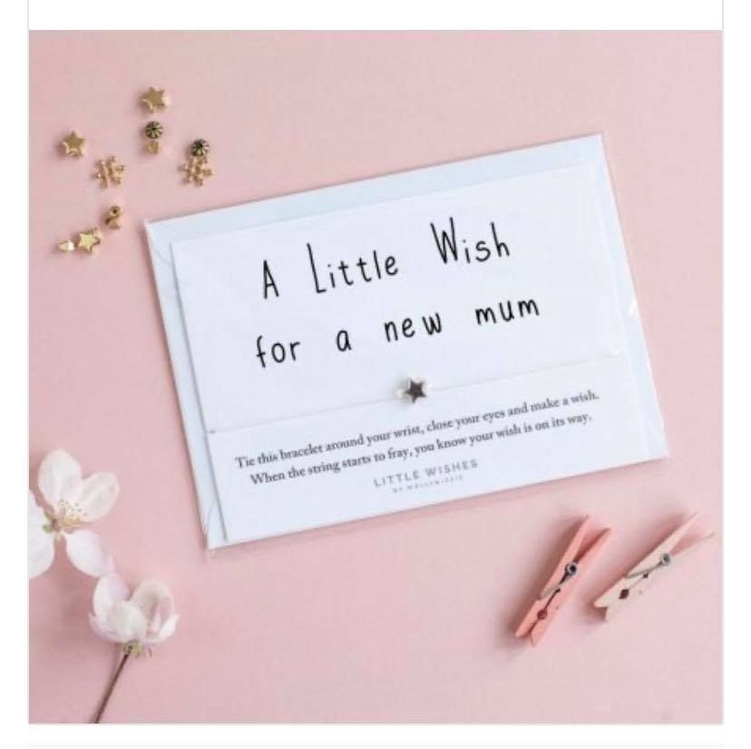 Wish Bracelet - A Little Wish For A New Mum