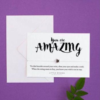 Wish Bracelet - You Are Amazing