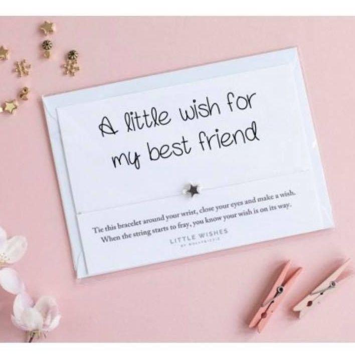 Wish Bracelet - A Little Wish For My Best Friend