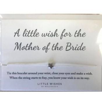 Wish Bracelet - A Little Wish For The Mother Of The Bride