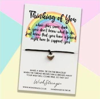 Wish Strings Bracelet - Thinking Of You ... Rainbow