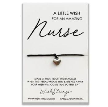 Wish Strings Bracelet - A Little Wish For An Amazing Nurse