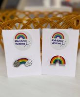 Rainbow Pin Badge