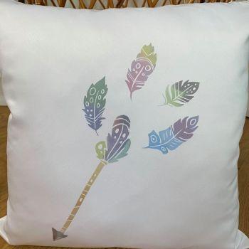 Feather Arrow Cushion