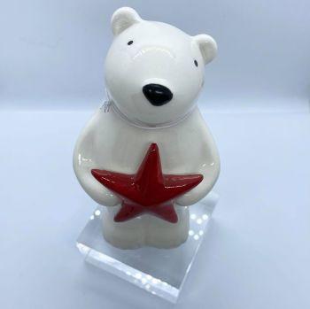 Festive Standing Polar Bear