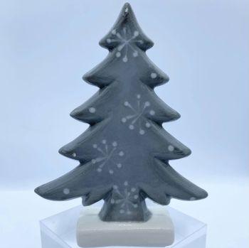 Grey Ceramic Christmas Tree