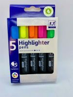 Highlighter Pens - Pack of 5