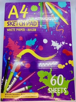 A4 Sketch Pad - 60 Sheet