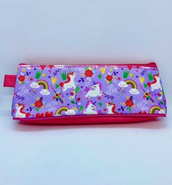 Unicorn Pencil Case - Lilac