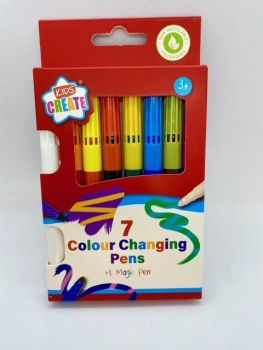 Colour Changing Pens - Pack of 7