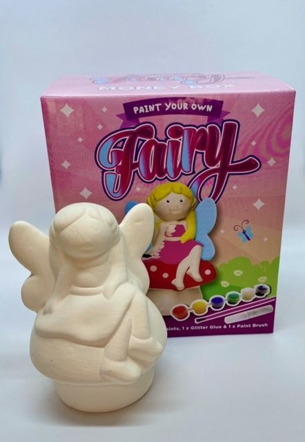 Paint Your Own Money Box - Fairy