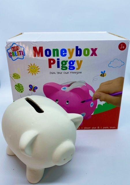 Paint Your Own Money Box - Piggy