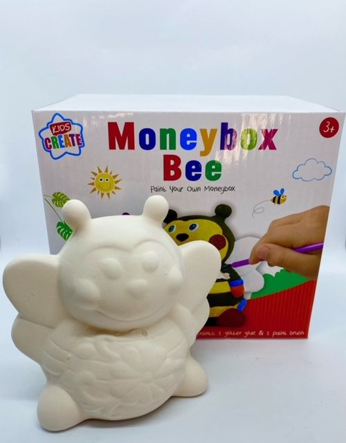 Paint Your Own Money Box - Bee