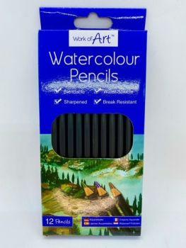 Watercolour Pencils - 12 pack