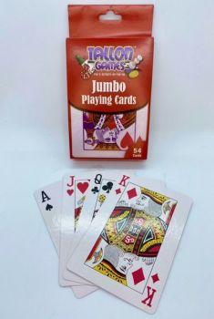 Jumbo Sized Playing Cards