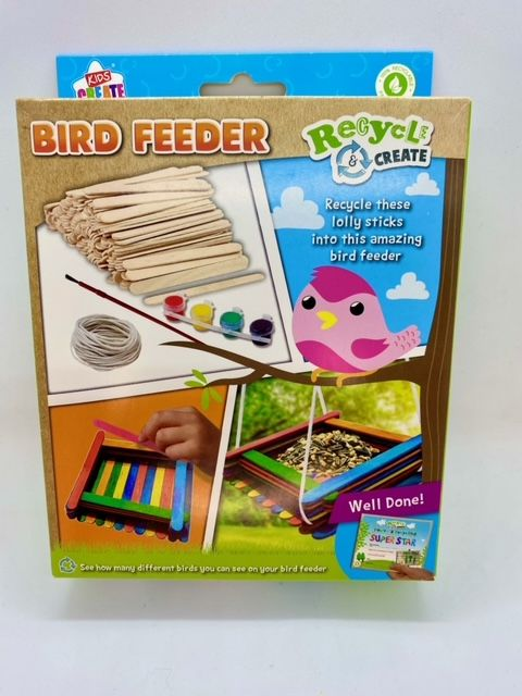 Recycled Make Your Own Bird Feeder