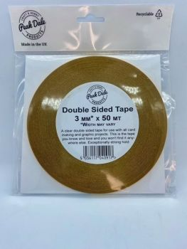 Double Sided Tape 3mm x 50metre