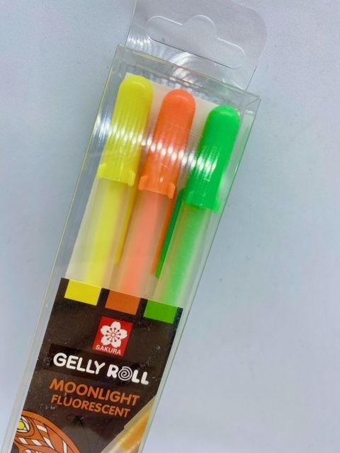 Gelly Roll Pen Moonlight Happy Set of 3