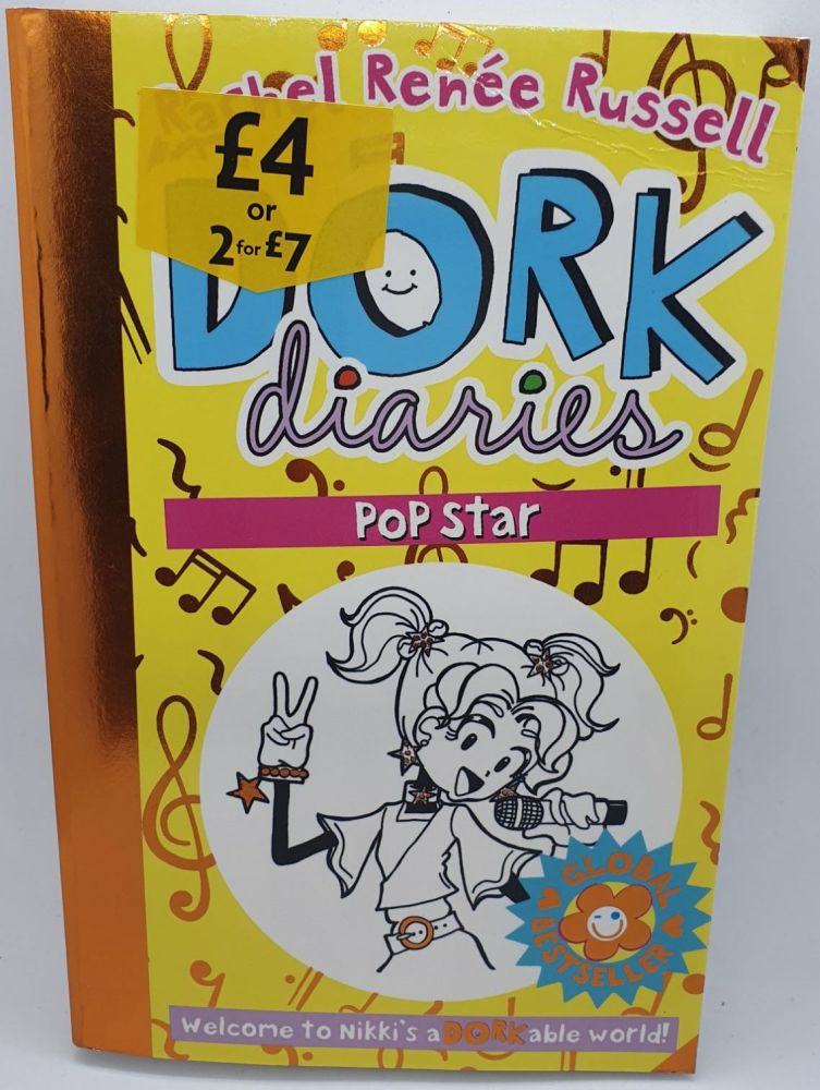Dork Diaries: Popstar - Rachel Renee Russell