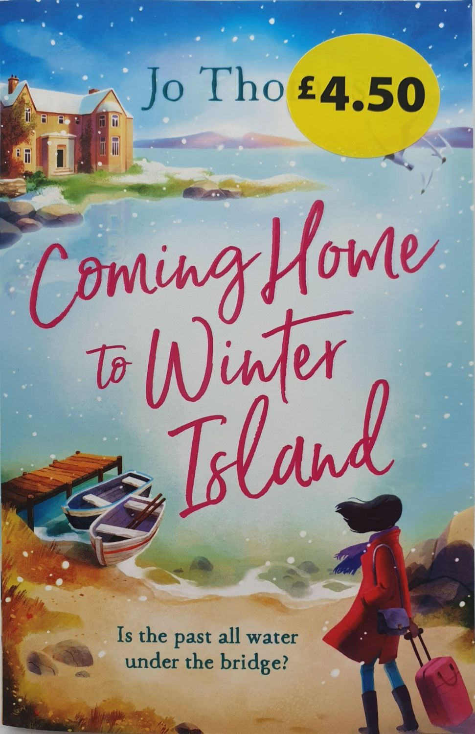 Coming Home To Winter Island - Jo Thomas