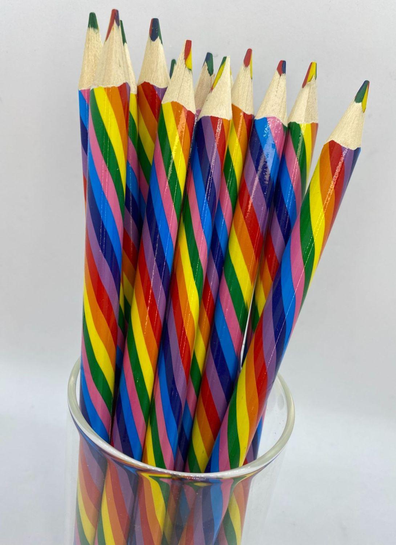 Rainbow Multi Colour Pencil