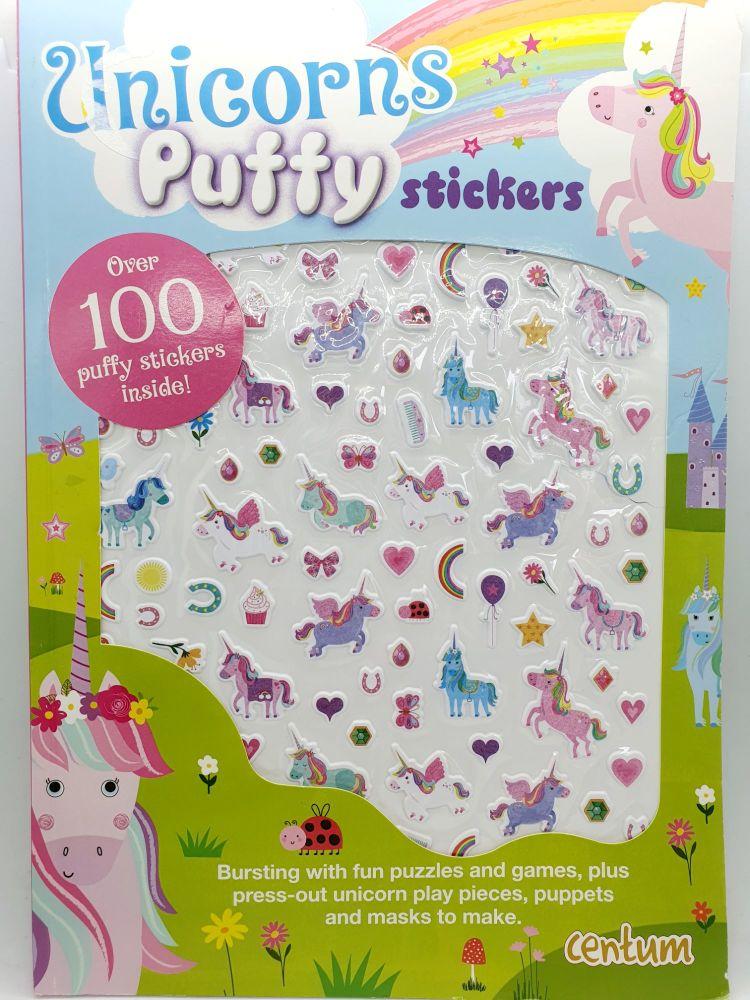 Unicorn Puffy Stickers