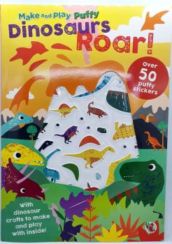 Dinosaurs Roar! Sticker Book