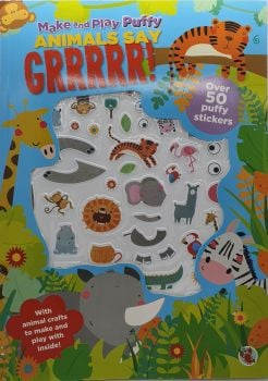 Animals Say Grrrrr! Sticker Book