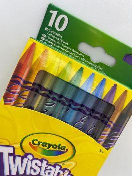 Crayola - 10 Twistable Pencils