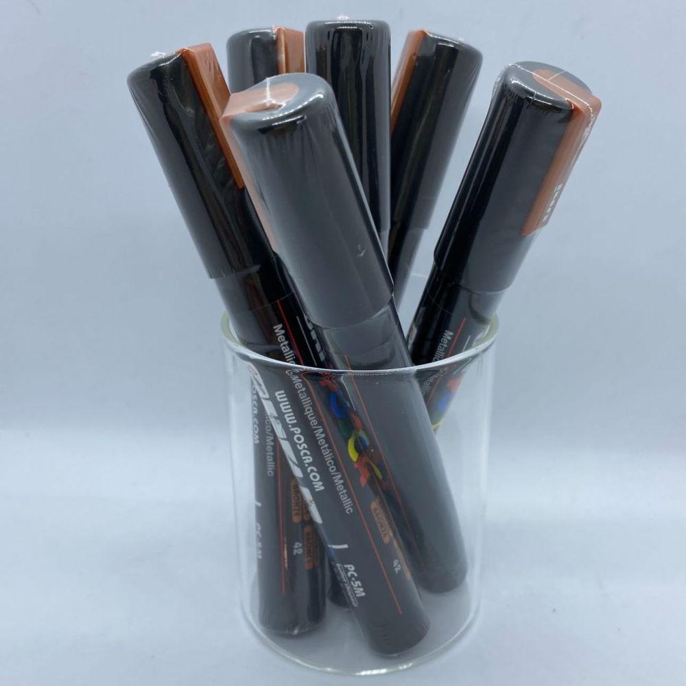 Uniball Posca Medium Tip Paintmarker - Bronze