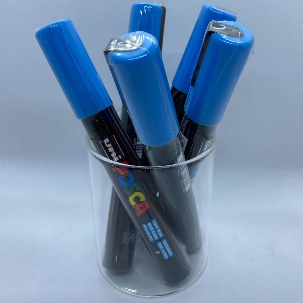 Uniball Posca Medium Tip Paintmarker - Light Blue