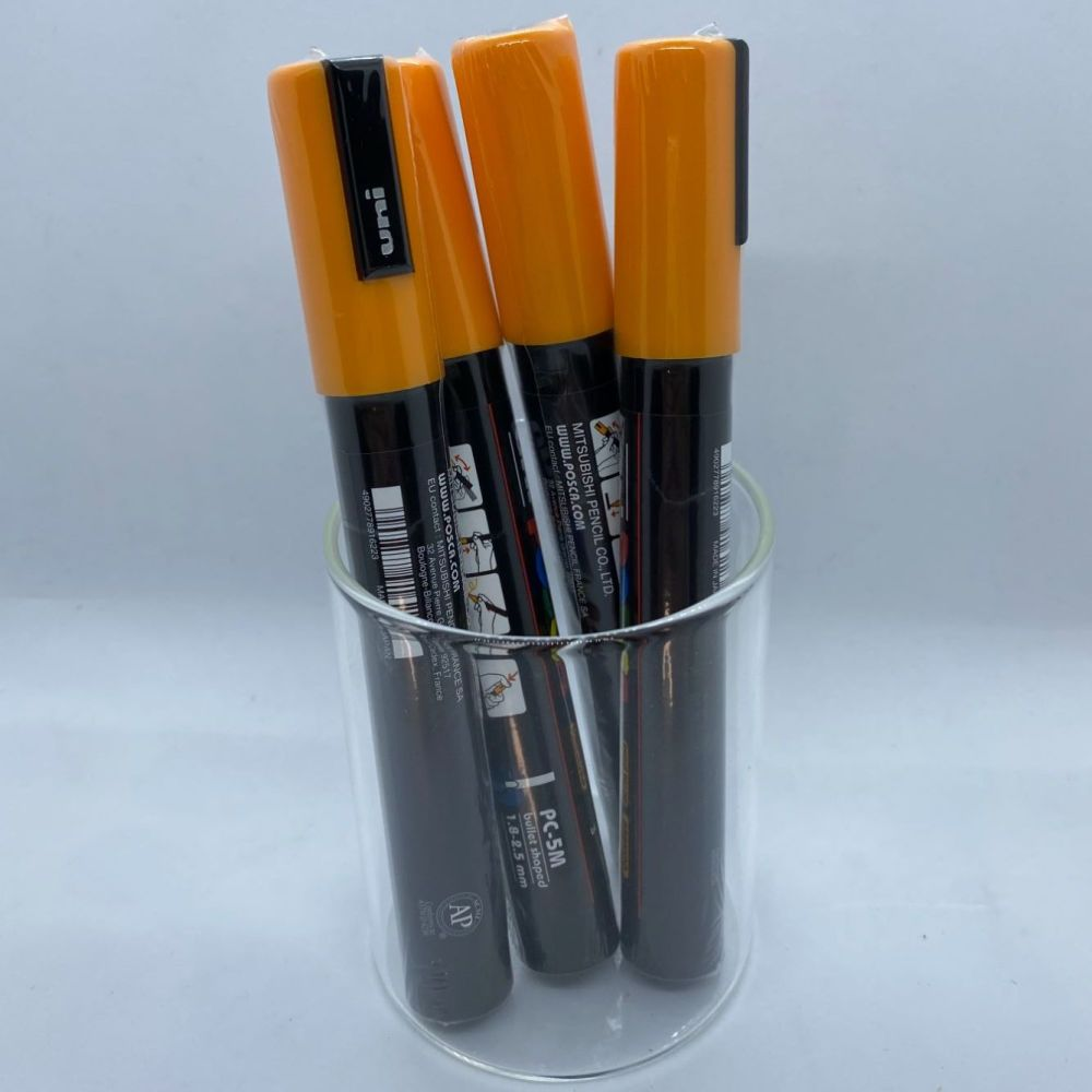Uniball Posca Medium Tip Paintmarker - Bright Yellow