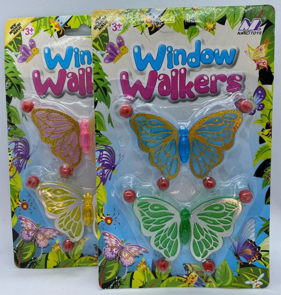 Butterfly Window Walkers