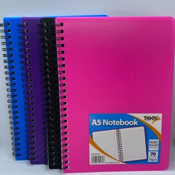 A5 Twin Wire Notebook