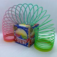 Retro Rainbow Spring Slinky