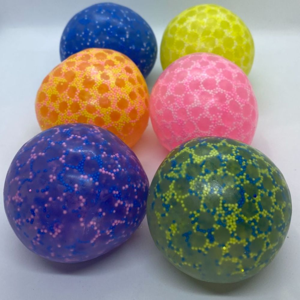 Squeeze Squishy Stress Ball with Beads