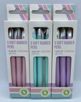 Pack of 3 Pastel Pens