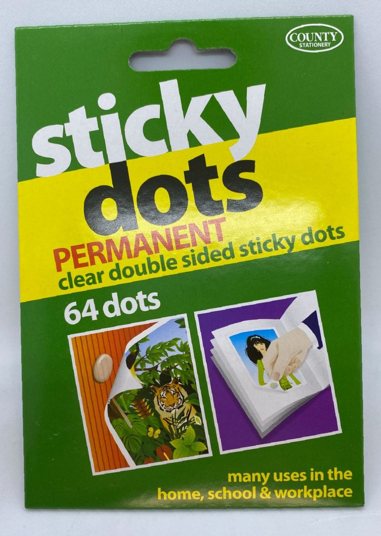 Permanent Sticky Dots