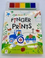 On The Farm Finger Prints Book